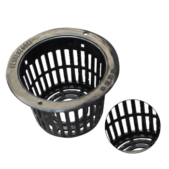10pcs/set Hydroponic Plant Mesh Pot Flower Planting Container Aeroponic Plant Grow Cup Soilless Cultivation Basket image