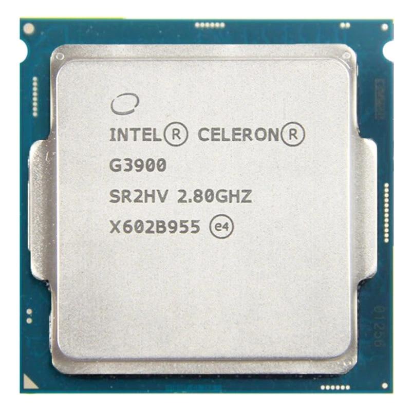 Intel Celeron G3900 CPU Dual Core 2.8GHz TDP 51W 2MB LGA 1151 CPU