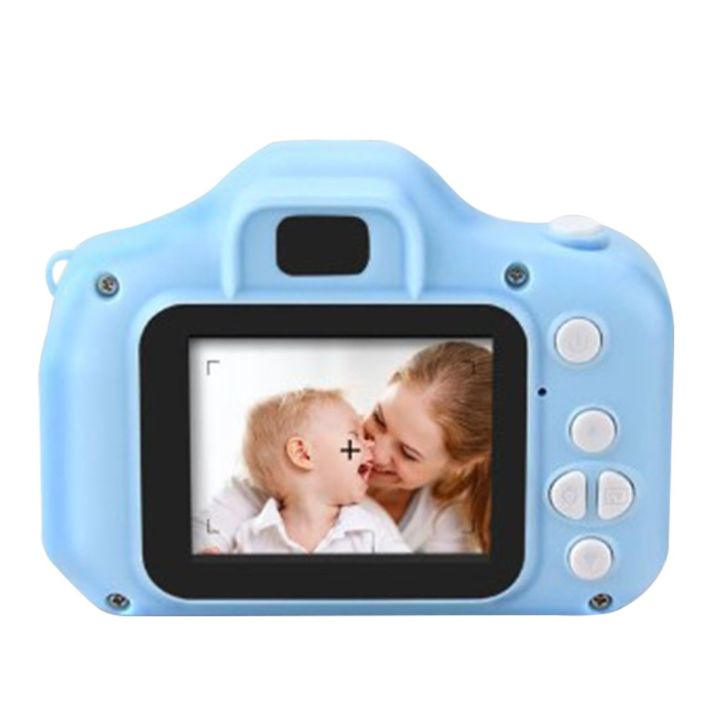 Изысканная детская мини-камера в мультяшном стиле маленькая зеркальная цифровая камера высокой четкости с картой памяти 8 Гб