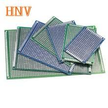 Circuit imprimé universel Double face pour Arduino, 5 pièces, bricolage x 15, 8x12, 7x9, 6x8, 5x7, 4x6, 3x7, 2x8 cm