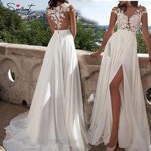 SERMENT элегантное кружевное вечернее платье с принтом ноги Сплит молния до всего тела цветочный принт для формальных вечерних танцев