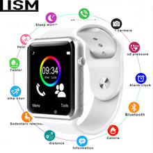 A1 Bluetooth Smart Watch W8 for Apple Watch with Camera 2G SIM TF Card Slot Smartwatch Phone For Android IPhone Russia T15 Reloj
