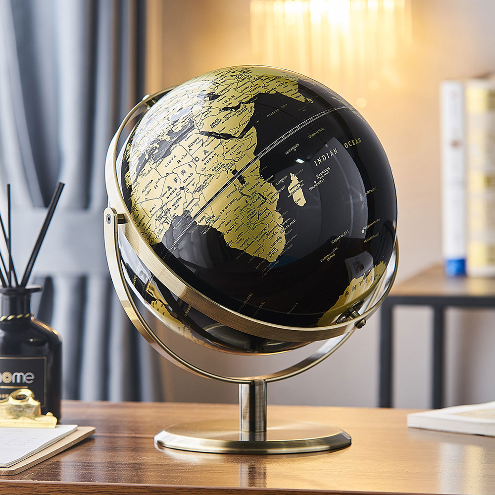Decorations for Home World Globe Home Decor Kids Decorations Map Decor Table Desk Ornaments Office Home Decoration Accessories