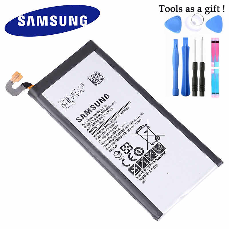 100% Originele Batterij EB-BG928ABE Voor Samsung Galaxy S6 Rand Plus + SM-G9280 G928P G928F G928V G9280 G9287 3000 Mah Met gereedschap