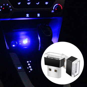 LED Car Light USB Atmosphere Light for Volkswagen VW Passat b6 b8 b5 b7 Golf 4 5 6 mk7 mk6 mk3 t5 t6 polo tiguan cc jetta Sharan image