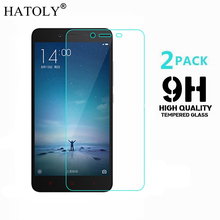 2PCS Tempered Glass For Xiaomi Redmi Note 2 Screen Protector for Xiaomi Redmi Note 2 Film Xiaomi Redmi Note 2 Glass HATOLY