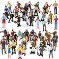 51 шт. реалистичная модель фермера, игрушки женщины мужчины фермер, рабочий, фигурка райдера, модель, фигурка, дети, домашний декор, фигурки, и...