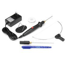 3 в 1 Электрический Резак Пены 100 V-240 V 18W пенопластовая ручка режущий станок с адаптером Портативный нож для резки пены с горячим проводом