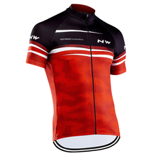 Men Cycling Jersey 2020 NW Short Sleeve Clothing MTB Pro Team Bike Shirt Road Kits Sportswear Maillot Racing Tops