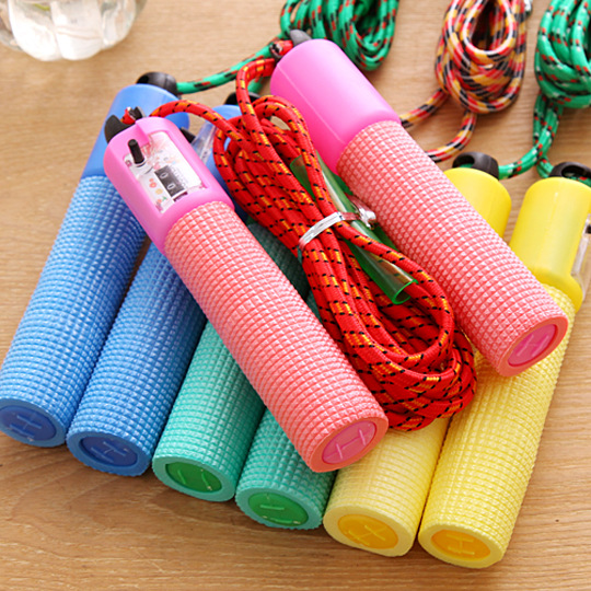 Children Jump Rope Baby Nursery Jump Rope Young STUDENT'S Count Adjustable Beginner Jump Rope Sports Boy Usable