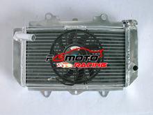 Radiador de aluminio para ATV Yamaha YFZ450 YFZ 450 449cc 2004-2009 2008 2012 2013 o con ventilador de 7