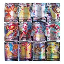 Tarjeta de Pokémon GX brillante, 25-300 Uds., Vmax Tag EX MEGA juego, Batalla, comercio de cartas, regalo para niños