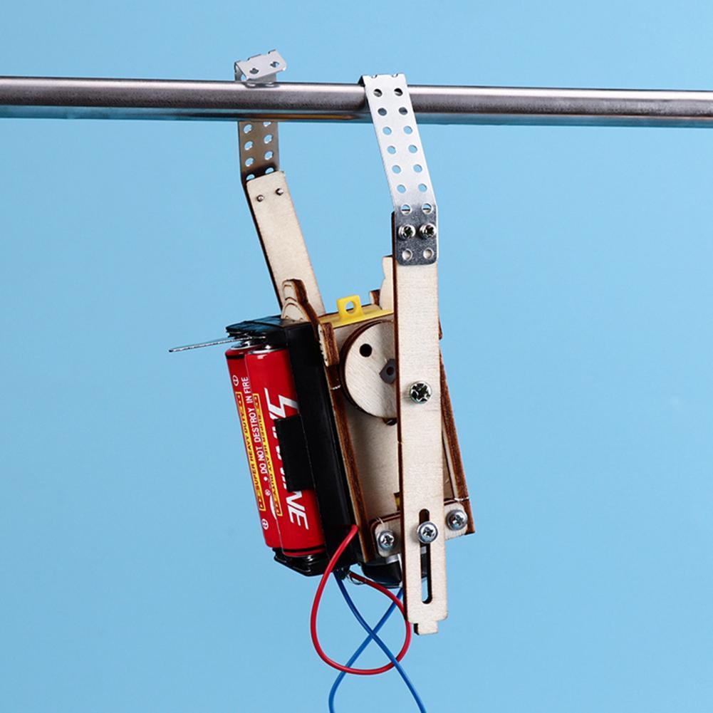 Wooden Rope Climbing Robot 2