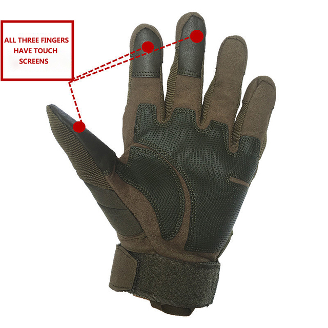 Motorcycle Leather Gloves 4