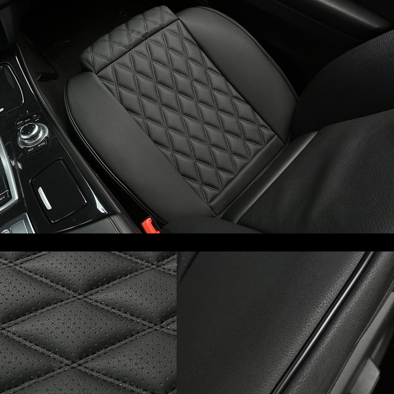 3D дышащий кожаный чехол-протектор на автомобильное сиденье, универсальные автомобильные коврики, водонепроницаемый автомобильный фургон, ...