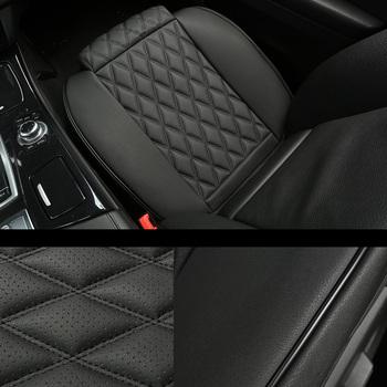 3D oddychająca skóra pokrowiec na siedzenie samochodu maty uniwersalny samochodów wodoodporna samochód dostawczy Auto świeca-mozaika ochraniacz na poduszki tanie i dobre opinie NoEnName_Null Cztery pory roku CN (pochodzenie) 50cm Pokrowce i podpory 0 5kg Leather Car Seat Cover Black Beige Gray Car Seat Cushion
