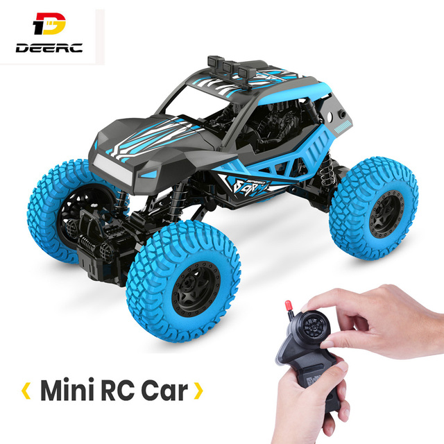 DEERC DE32 RC Car Offroad Trucks 2.4G Radio Remote Control Car RC Rock Crawler Car Racing Monster Truck For Children Adults Kids 1