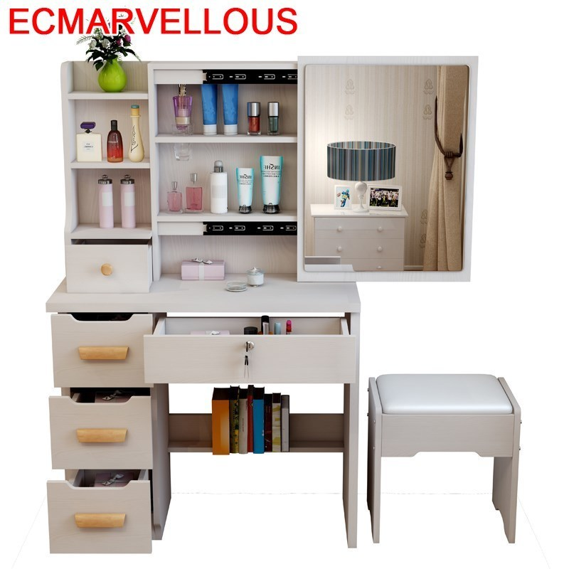 Toaletka Mueble De Aparador Tocadore El Dormitorio Comoda Para Mesa Penteadeira Quarto Bedroom Furniture Dressing Table