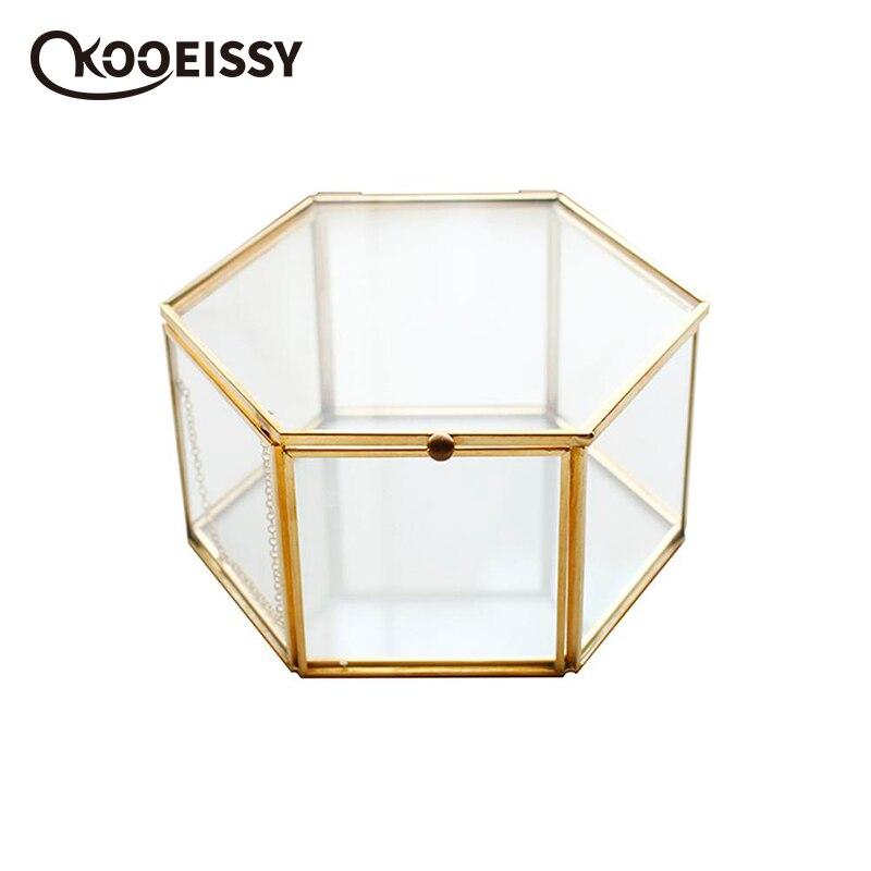 Container Storage-Box Lipstick-Organizer Glass Vintage Jewelry Wedding-Decor Everlasting