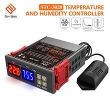 Digital Thermostat Humidistat Dual Display Indoor Incubator Aquaculture Temperature Humidity Meter Thermometer 110V 220V 12V 24V стоимость