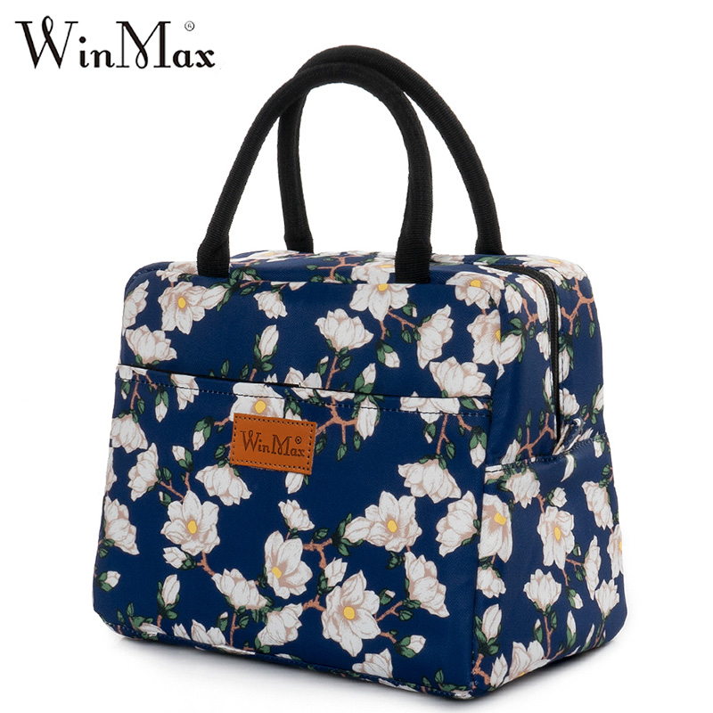 Winmax 1-2 Person Insulation Thermal Lunch Bag Large Waterproof Office Food Fruit Organizer School Lunch Box Family Cooler Bag
