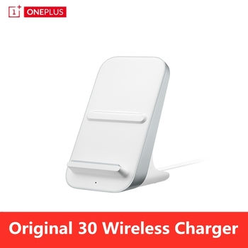 Original OnePlus Warp Charge 30 Wireless Charger 30W Official Qi/EPP Air Cooling Smart Bedtime Mode PC V0 300g for OnePlus 8 Pro