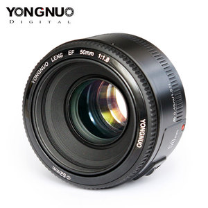 Image 3 - Dorigine YONGNUO YN50mm F1.8 Objectif Pour Nikon D800 D300 D700 D3200 D3300 D5100 Objectif Dappareil Photo REFLEX NUMÉRIQUE Pour Canon EOS 60D 70D 5D2 5D3 600D