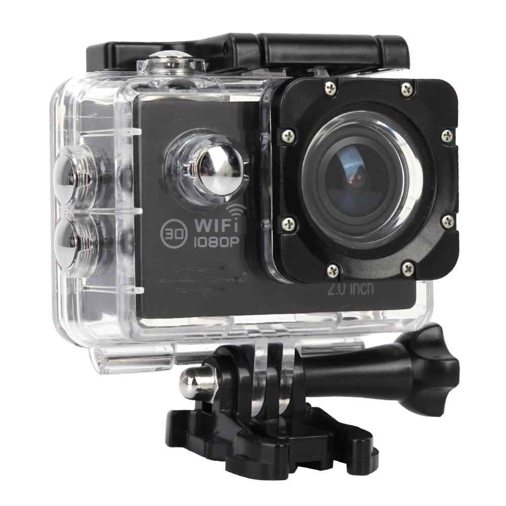 1080P 30FPS HD 2inch LTPS Screen Sports 30m Waterproof WiFi Action Camera Set  action cam accessories