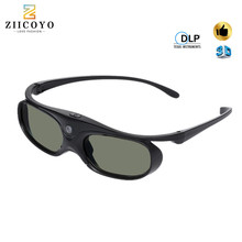 Active Shutter 96 144HZ Rechargeable 3D Glasses For BenQ Acer X118H P1502 X1123H H6517ABD H6510BD Optoma JmGo V8 XGIMI Projector
