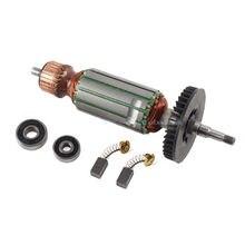 Reemplazo del Motor del Rotor de 220-240V, anclaje de armadura 360802F para HITACHI G10SS G12SS G13SS, amoladora angular, herramientas repuestos eléctricos