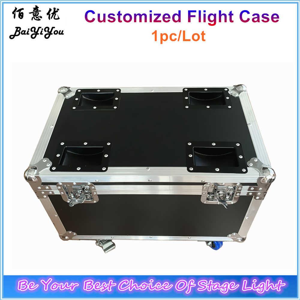 1x Flightcase Voor Moving Head Licht Par Alle Podium Licht Dry Ice Fog Vonk Machine Console Ondersteuning Aanpassen Contact voordat Betalen