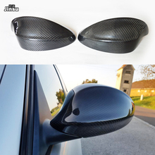 Carbon Fiber Replacement Side Mirror Cover Caps Shell for BMW 3 seies 320i 325i 330i 335i 2005 - 2008 E90 Performance style replacement carbon fiber shell side