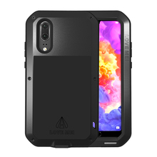 Love Mei Metal Case For Huawei P20 Pro Shockproof Phone Cover Lite Coque Armor Anti-Fall