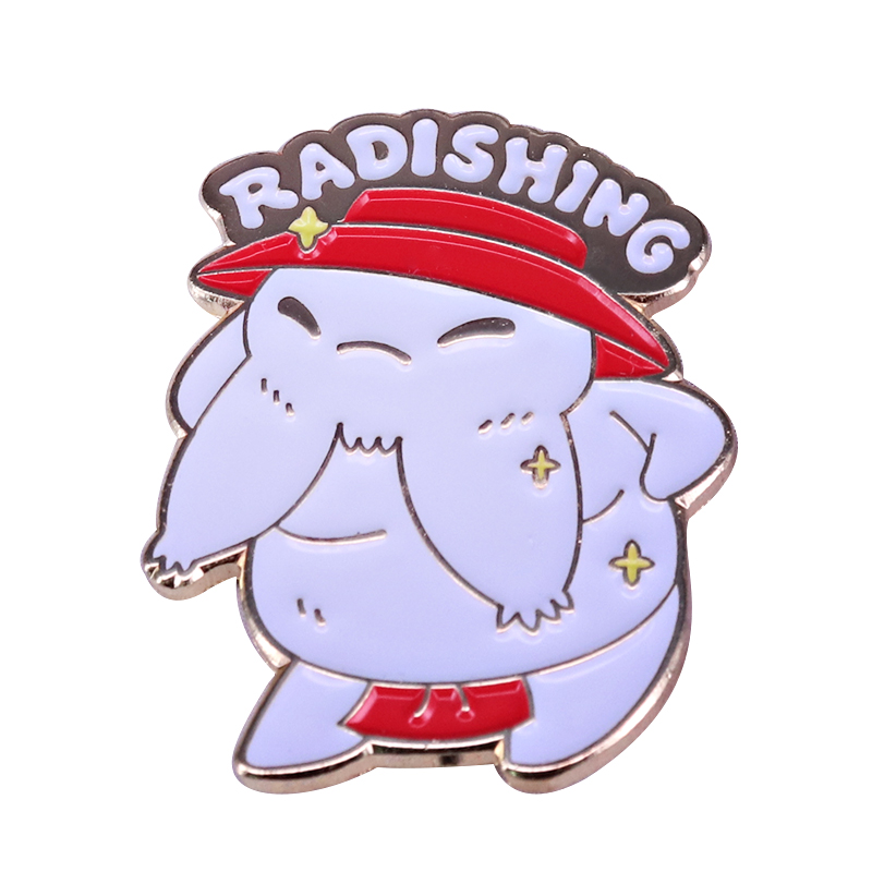 Radishing Pin badge|Pins & Badges| - AliExpress