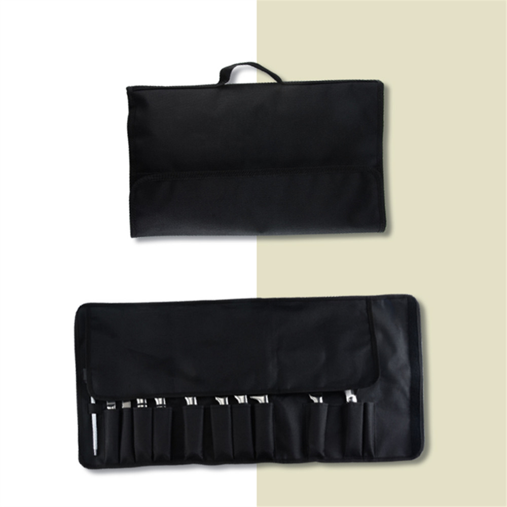 XYj Chef Knife Set Bag Roll Bag Carry Case Bag Kitchen Cooking Portable Durable Storage Hiking Hotel Tool 8 12 Piece