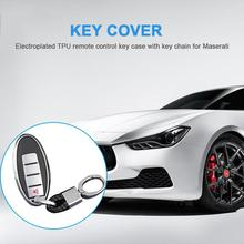 New TPU Car Key Case Auto Key Protection Cover Holder Shell Colorful Car-Styling Accessories