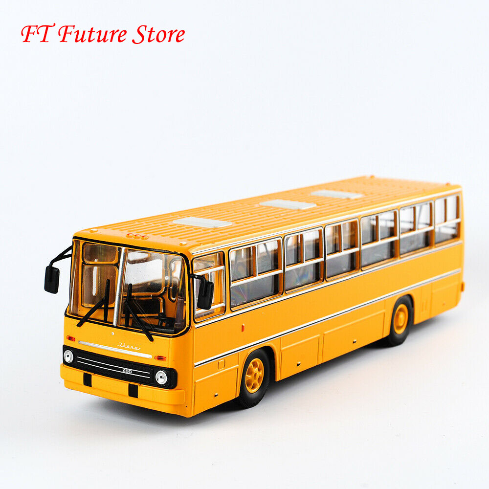 Car Model Toys For Fans Collectible 1/43 Scale Soviet Russia Icarus IKARUS-260 Bus Model Diecast Double-decker Car Model 25cm