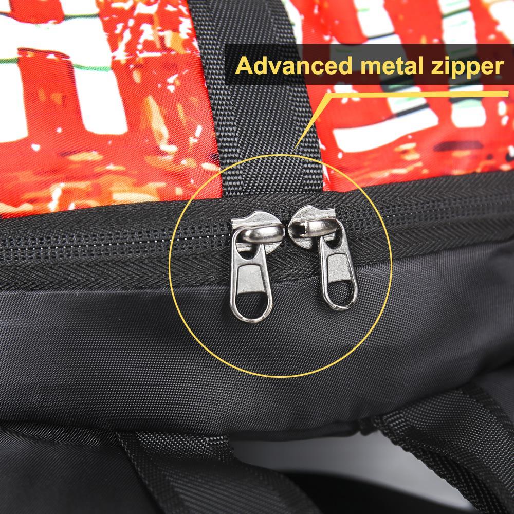 tendência adolescente saco masculino-feminino alta qualidade esportes imprimir multi sacos de bolso