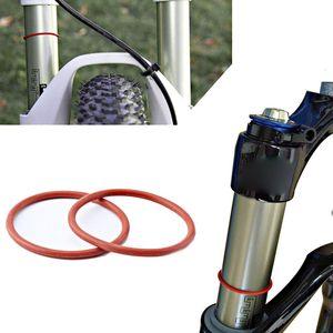 Горный велосипед дорожный велосипед Подвеска 32 мм/30 мм передняя вилка Наружная трубка силиконовый дорожный круг