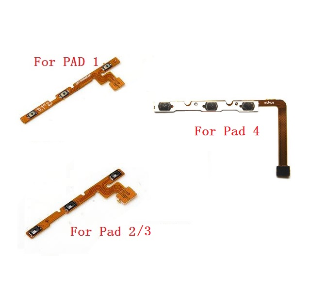 Genuine Power & Volume Flex Cable For Xiaomi MiPad 1 Mi Pad 2 3 4 Side Keypad Switch Button Flex Cable Replacement Repair