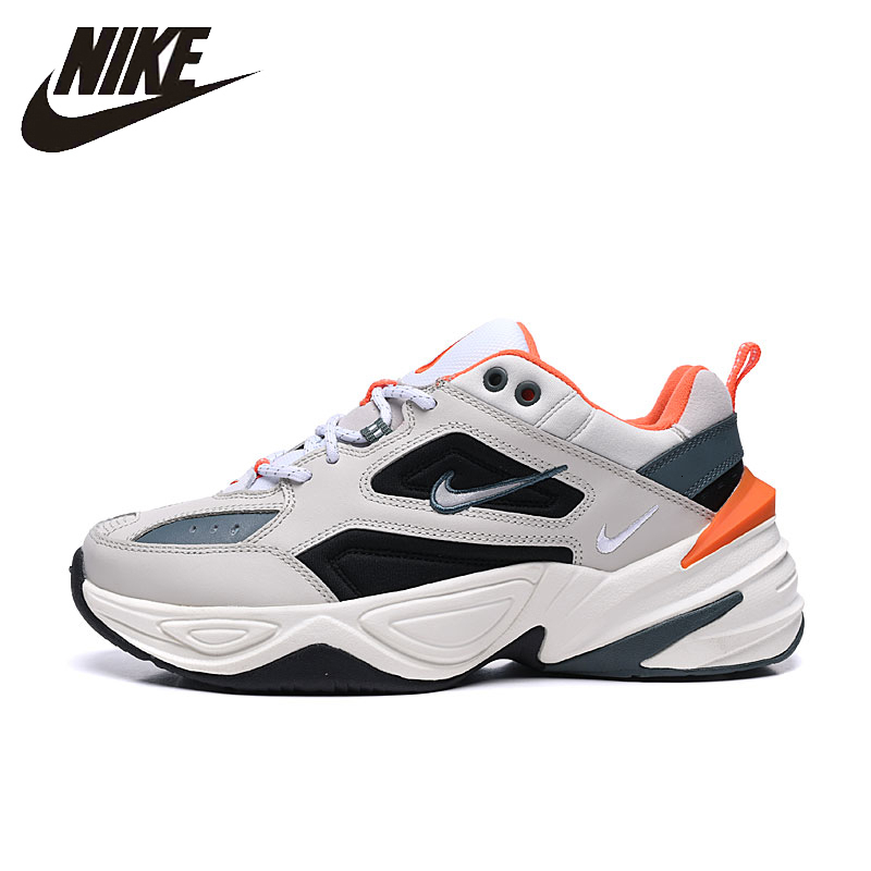 Nike M2k Tekno Man Running Shoes Comfortable Casual  Sports Sneakers 2019 New Arrival #CI2969-001 Original Authentic