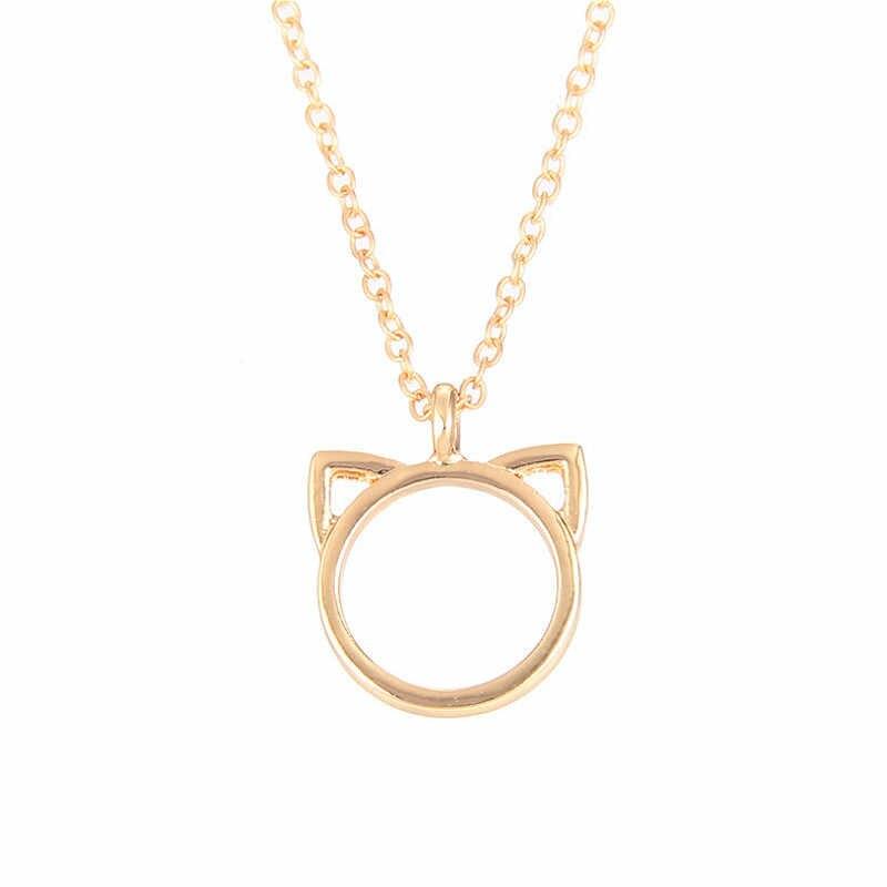 1Pcs חתול של אוזן אופנה שרשרת המפלגה לטובת יום הולדת מתנה עבור חברה של חג האהבה מתנות טובות למזכרת