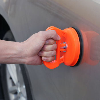 Extractor de abolladuras de 2 pulgadas para coche de alta calidad, extractor de paneles de carrocería, ventosa, ventosa adecuada para pequeñas abolladuras en el coche, 1 Uds.| |   -