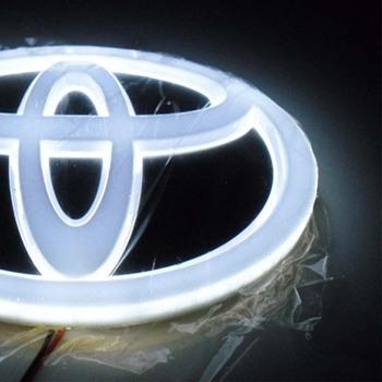 4D Logo na samochód znaczek LED światło tylne Logo na samochód zimne światło światło nadaje się do LOGO tanie i dobre opinie NONE CN (pochodzenie) Klimatyczna lampa 12 v