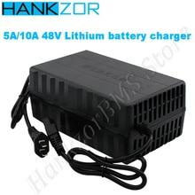 Зарядное устройство для литий-полимерных батарей hankзор 13S 54,6 V 14S 58,8 V Li-Ion 15S 54,8 V Lifepo4 для четырехколесного моторного велосипеда 48V 5A 10A