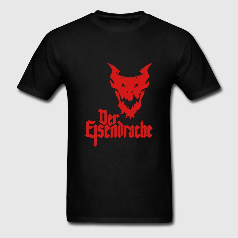 100% Cotton O-neck Custom Printed Men T shirt Der Eisendrache Women T-Shirt