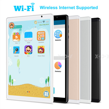 10.1-inch Kids Netbook Call Tablet For PC Android 9.0 Quad-Core SIM WIFI + 3G 2.5D 10'' High-definition screen HD 10 1 inch official original 4g lte phone call google android 7 0 mt6797 10 core ips tablet wifi 6gb 128gb metal tablet pc
