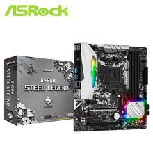 Steel Legend Socket Am4 DDR4 Amd B450 Micro-Atx Double-Channel USB3.1 3466 Mhz M.2 ASROCK