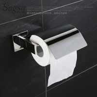 Mirror Light 304 Stainless Steel Mirror Holder with Cover Party Base Toilet Kitchen Paper Towel Holder Lufthansa Sanitary Ware