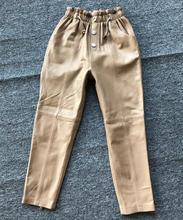 Европейские весенние женские кожаные брюки карандаш 2020 шикарные